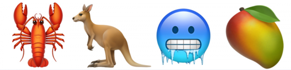 Emoji animal fruit3